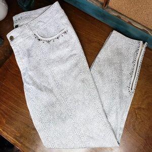 White House Black Market Pants - White house black market skinny crop pants